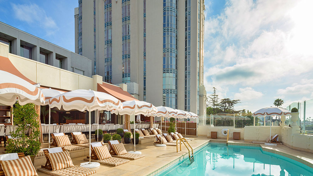 Sunset Tower Hotel, West Hollywood, Los Angeles California