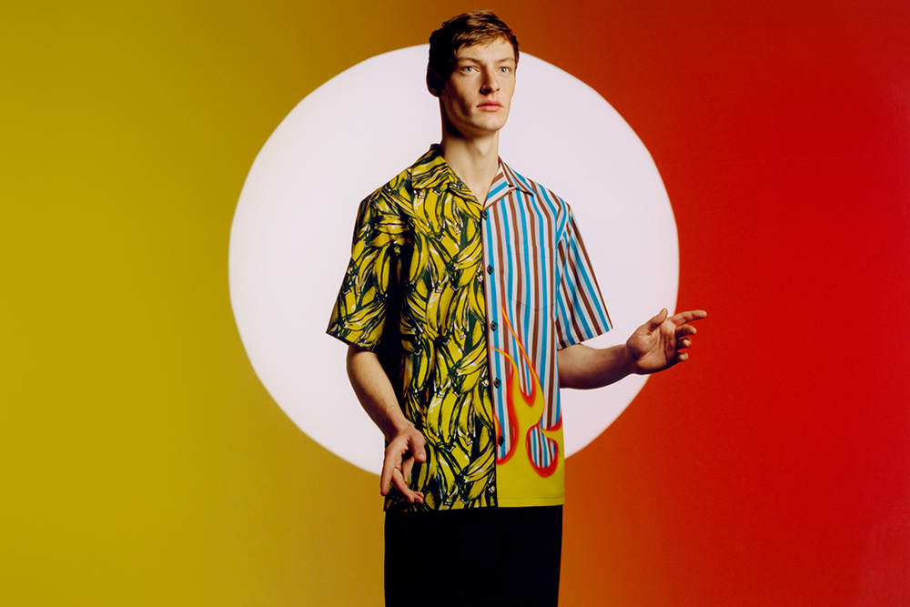 Prada now offers made-to-measure versions of its Double Match shirts that you can customize.