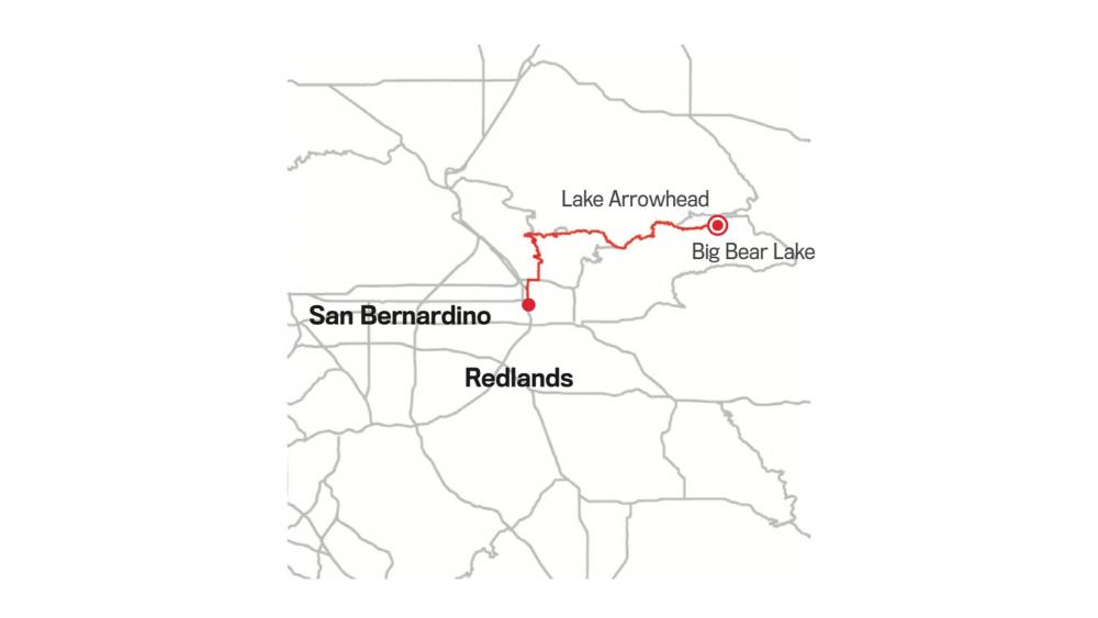 RIM OF THE WORLD SCENIC BYWAY: SAN BERNARDINO TO BIG BEAR LAKE