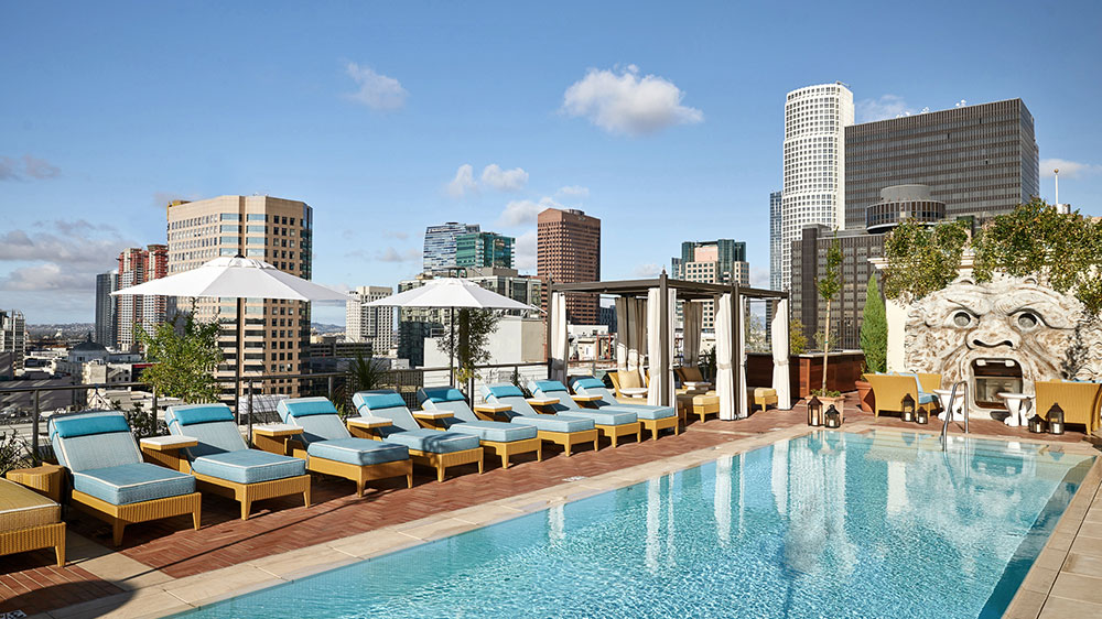 The Rooftop at NoMad Los Angeles