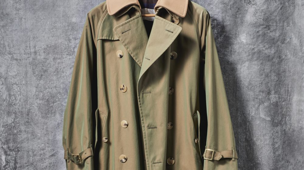 Robb Report's Best Trench Coat 2019, Cohérence's Albert Camus