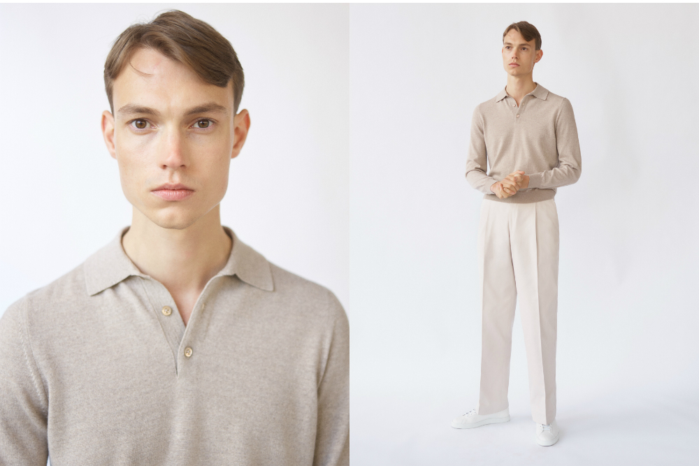 Saman Amel's collection for Mr Porter runs the gamut from tuxedos to polo shirts and pleated trousers.