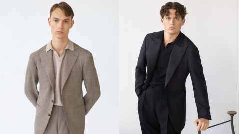 Suits from the Saman Amel collection available at Mr Porter.