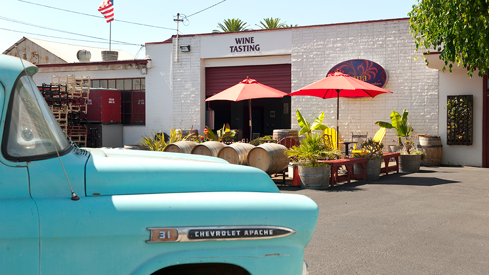 Wine Tasting in Santa Barbara's Funk Zone