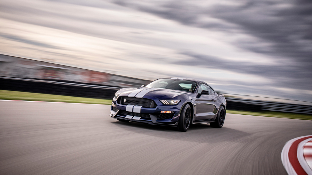 The 2019 Ford Mustang Shelby GT350.