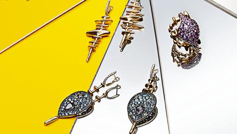 Robb Report's Best Emerging Jewelry Designer, Vram