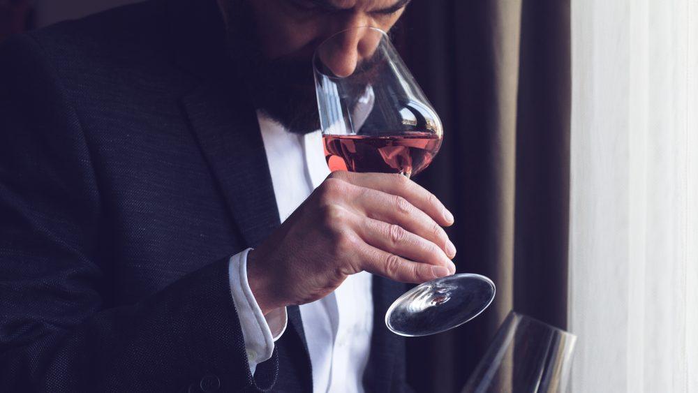 man-wine-tasting