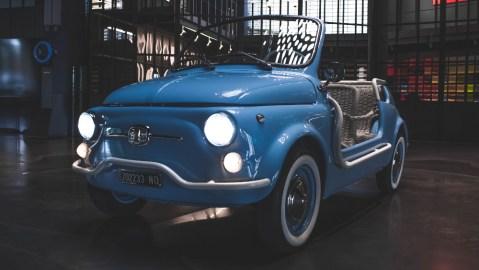 Garage Italia's Electric Fiat 500 Jolly