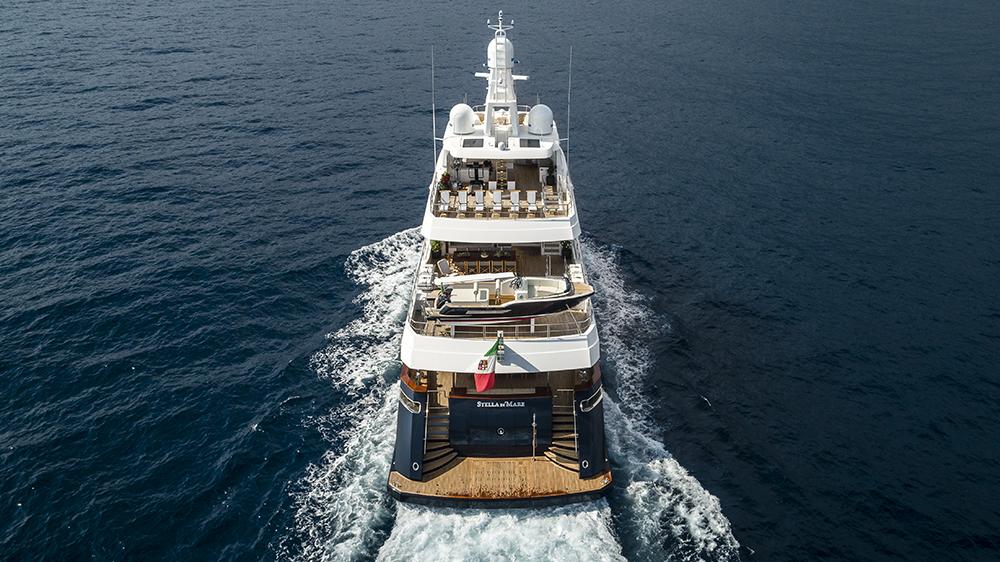 Robb Report's Best Motor Yacht 100 to 200 Feet, the CBI Navi Stella di Mare