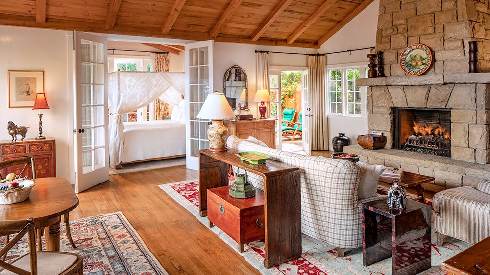 A cottage at San Ysidro Ranch, California