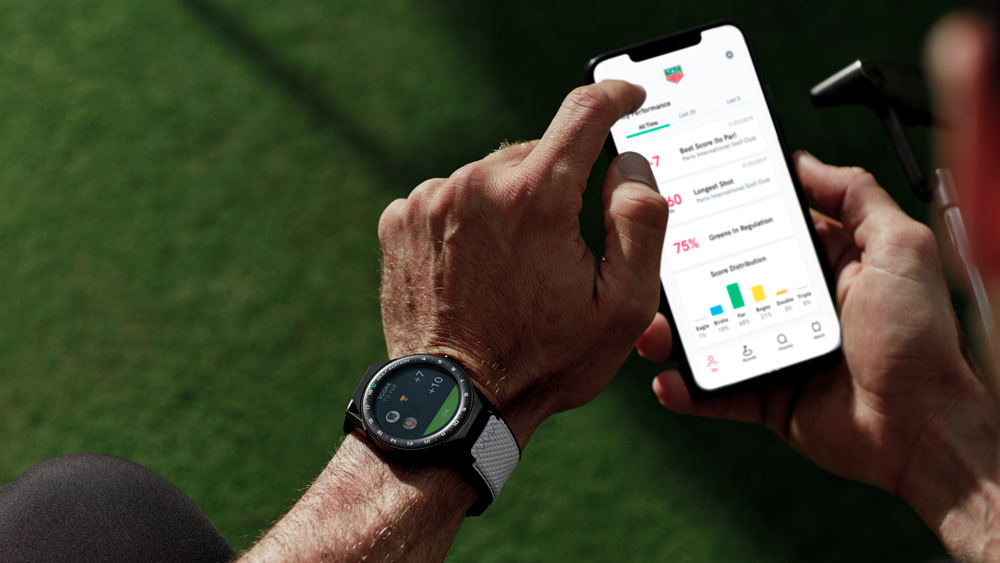 Tag Heuer Connected Golf Watch and App