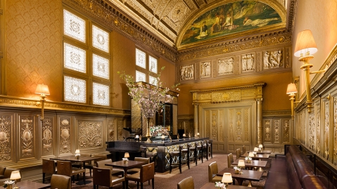 The Gold Room Bar at Lotte New York Palace Hotel