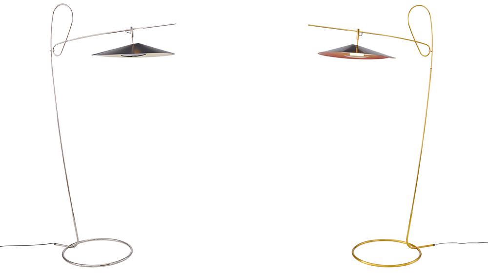 Robb Report's Best Lighting Design, Treble Standing Lamp by David Weeks Studio