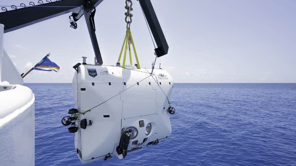 Robb Report's Best Submersible, the Triton Hadal Exploration System