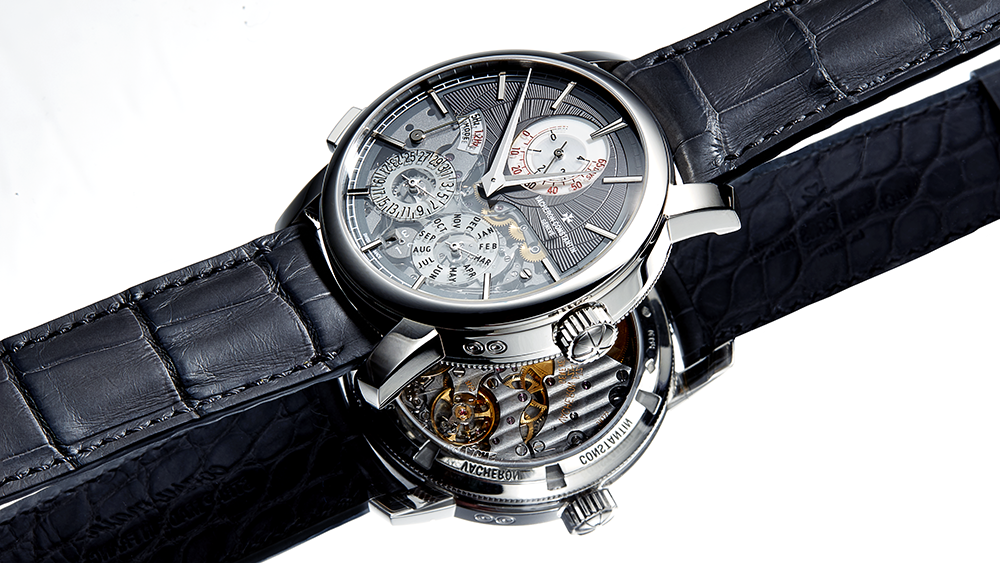 Robb Report's Men's Timepiece of the Year, the Vacheron Constantin Traditionnelle Twin Beat Perpetual Calendar