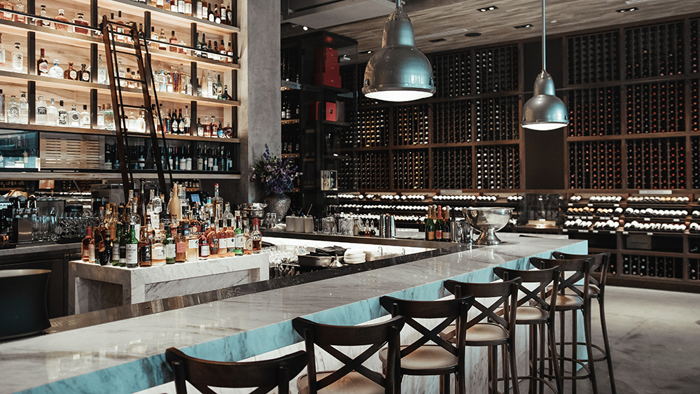 Robb Report's Best Urban Tasting Room 2019, Wally's Santa Monica