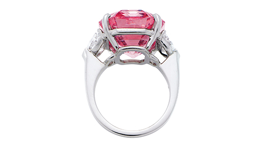 Pink Legacy diamond ring