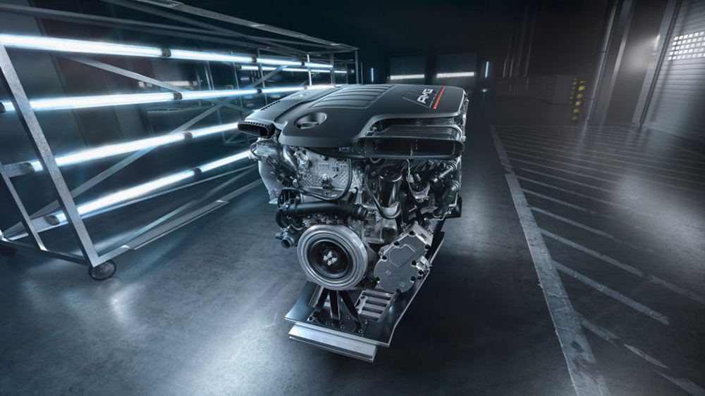 The new 3.0-liter turbocharged inline-6 powering the Mercedes-AMG 53 Series.