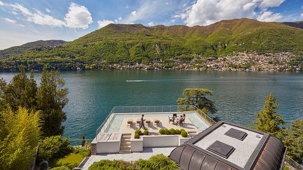 La Residenza terrace at Mandarin Oriental, Lago di Como