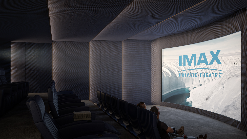 The private IMAX at 130 William