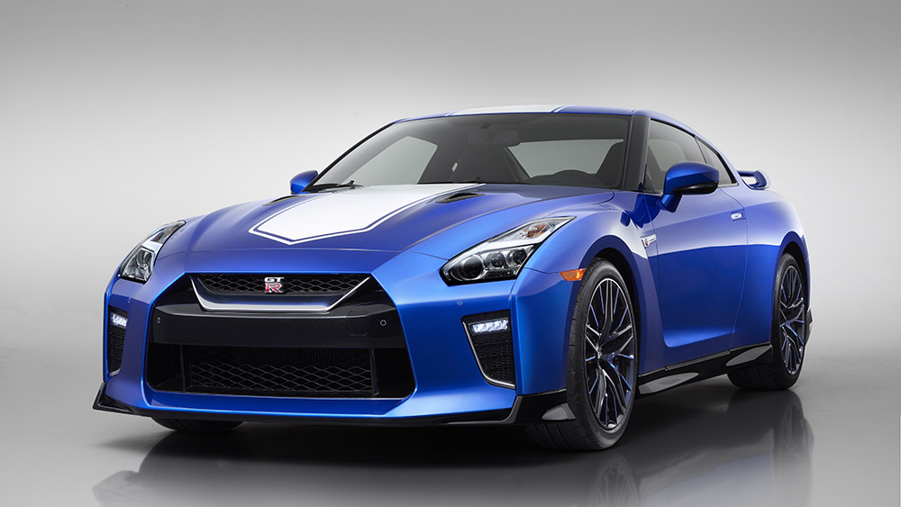 The 2020 Nissan GT-R 50th Anniversary Edition takes the nameplate to a level that was unimaginable when it was first introduced 50 years ago. To celebrate the half-century of the GT-R, engineers challenged themselves to find undiscovered performance potential while still making sure the car can be enjoyed by drivers at any level.