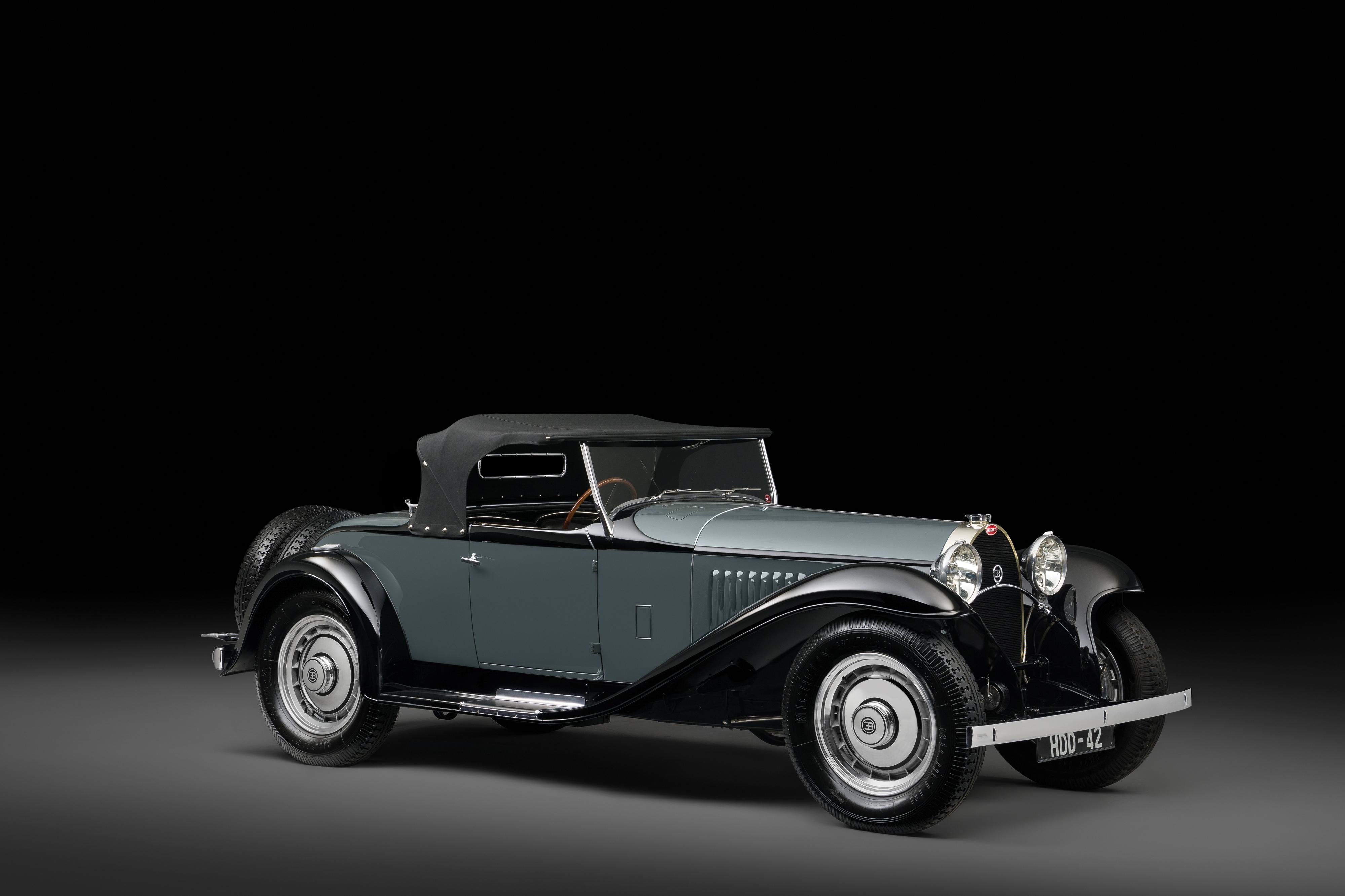 The 1931 Bugatti Type 50 Roadster sold at Villa Erba.
