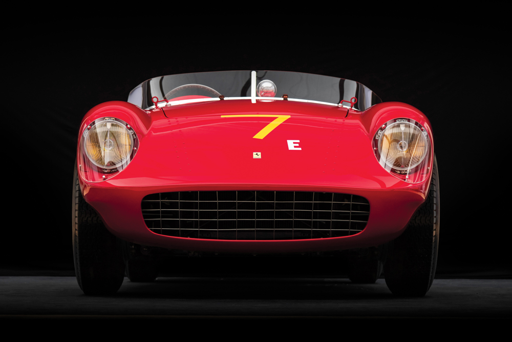 This 1954 Ferrari 500 Mondial Spider, bodied by Pinin Farina, sold for close to $4.2 million.