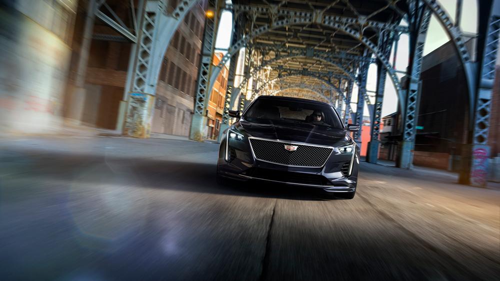 The 2019 Cadillac CT6-V.