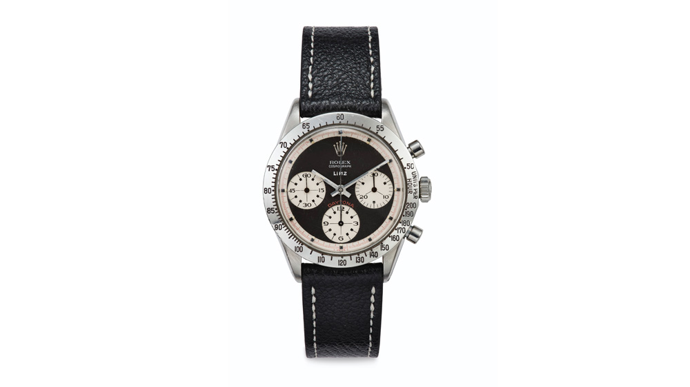 "Rolex ""Paul Newman"" Daytona Ref. 6239 Retailed by Linz Brothers"