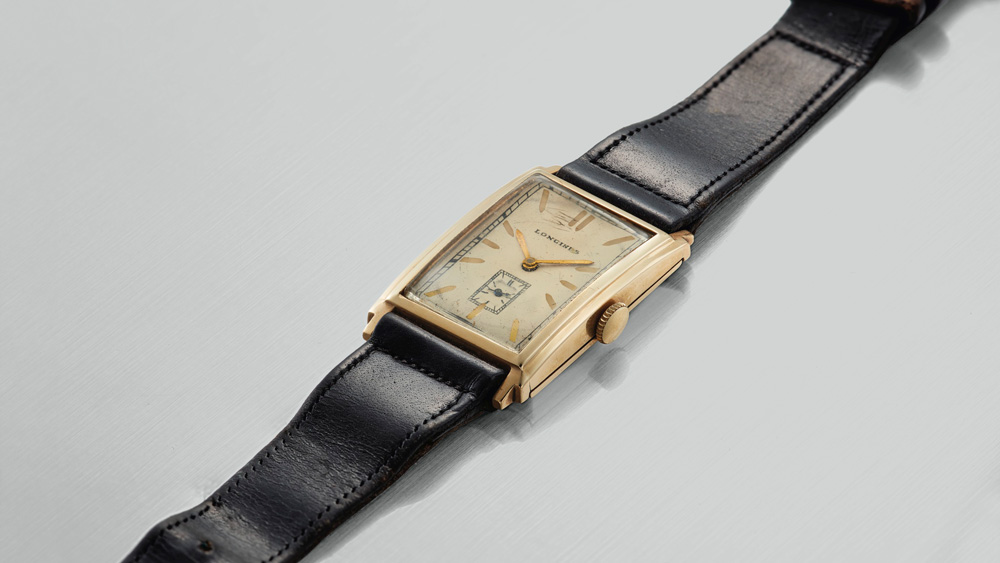 Longines 14-Karat Gold Joe DiMaggio Watch