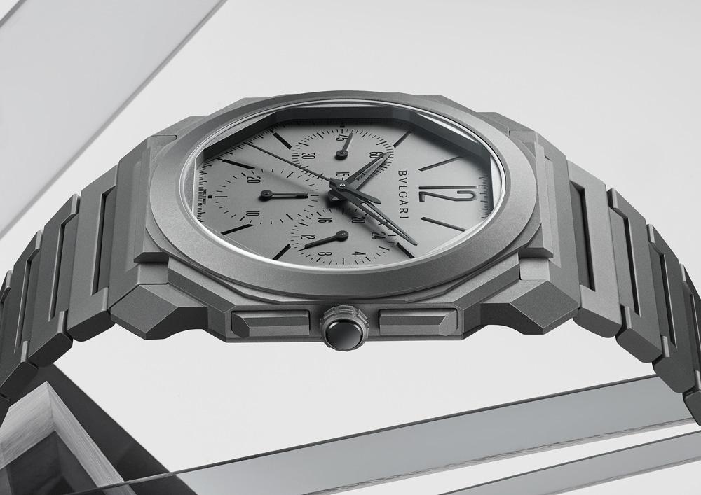 Bulgari Otto Finissimo Chronograph GMT Automatic