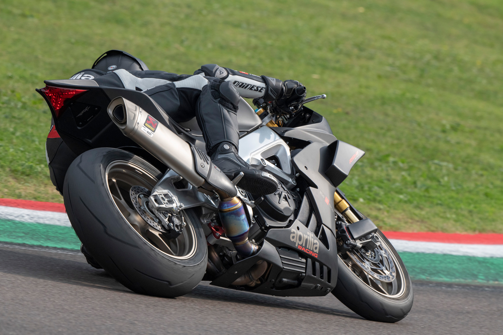 One of the most dynamic, nimble superbikes on the market.