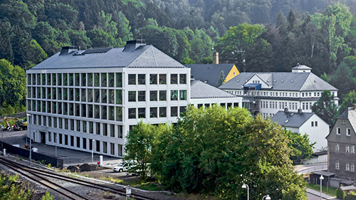 A. Lange & Söhne factory in Germany