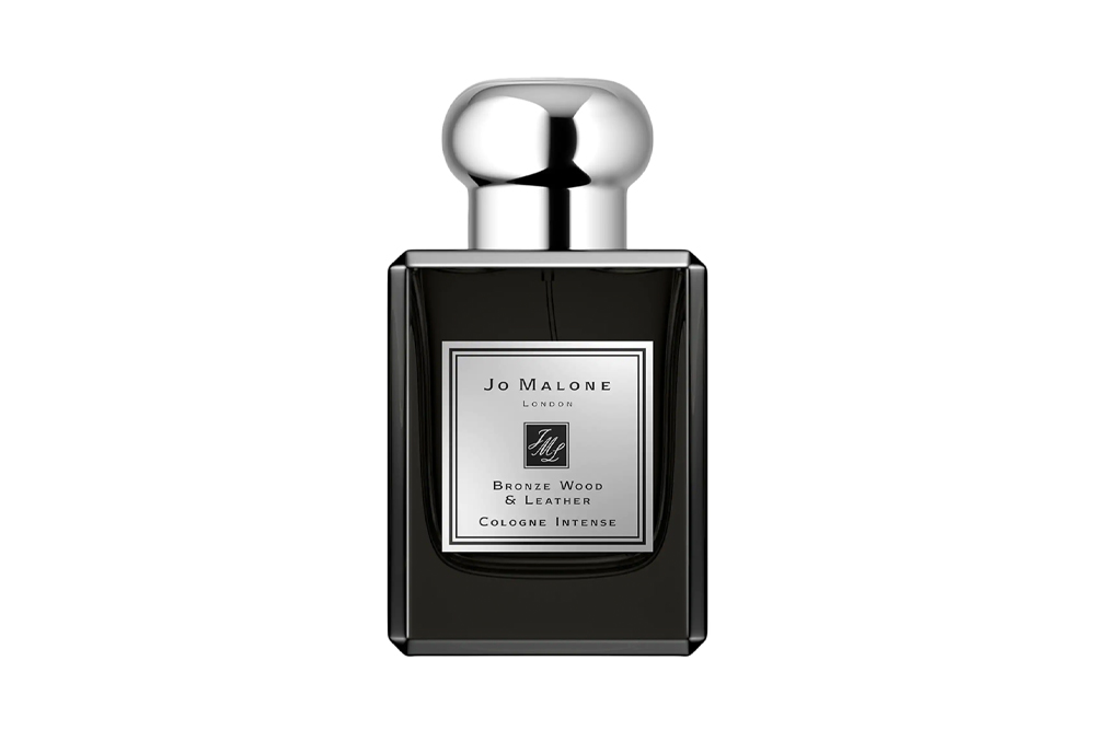Jo Malone's Bronze Wood & Leather fragrance is a great Father's Day gift idea.
