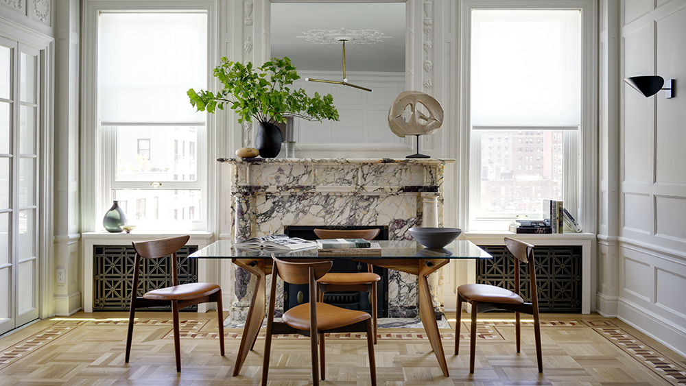 Interior Photographs of an apartment on the Upper East Side of Manhattan. Interior Design and styling on set by Brad Ford Interior Design