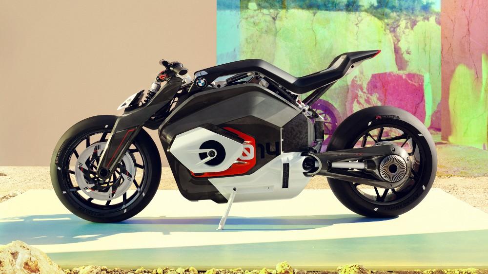 The BMW Motorrad Vision DC Roadster concept bike