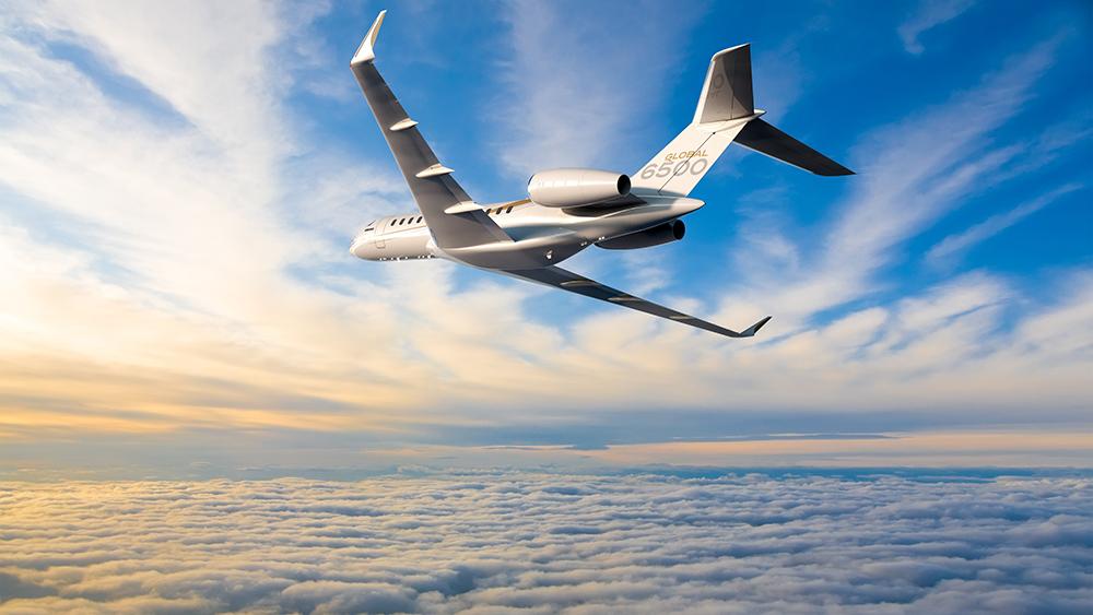 Bombardier Global 6500 business jet