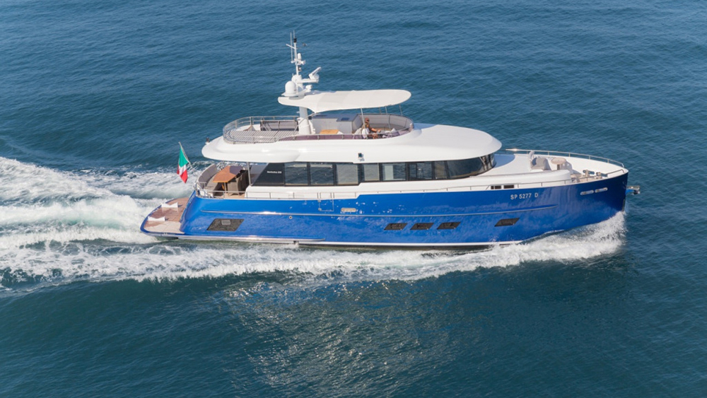 72-foot Gamma 22 'Libertas' explorer yacht