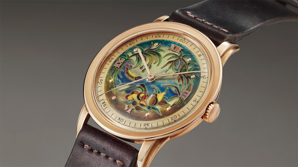 "Christie's will auction this rare Patek Philippe watch from 1950 at its ""An Evening of Exceptional Watches"" auction."