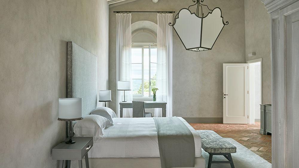 A suite at Castello de Nero