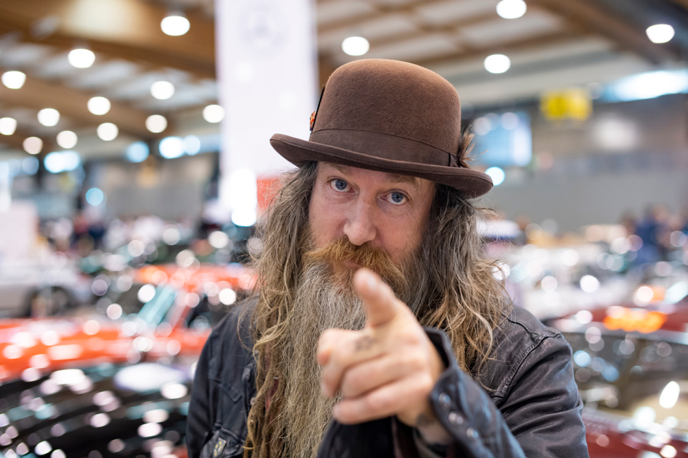Magnus Walker wants you to get out and drive.