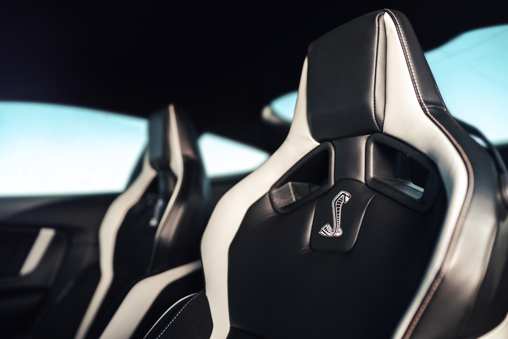 Contoured seats cradle occupants as they rocket through the quarter mile in less than 11 seconds.