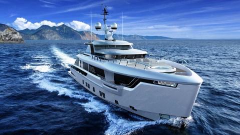 Dynamiq Global 330 Explorer Yacht with Bentley interior