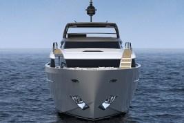 Sanlorenzo SL96Asymmetric yacht Laura Sessa interior design