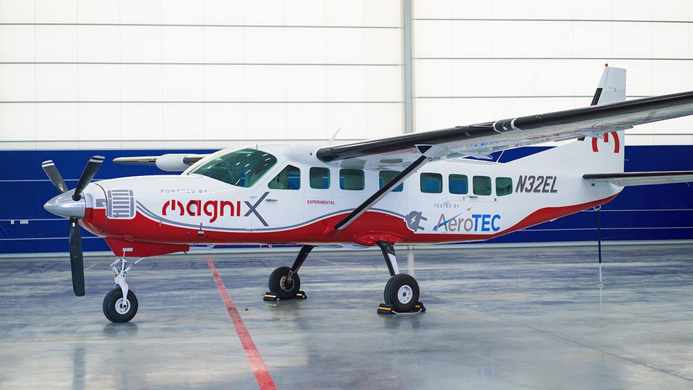 AeroTEC to flight test a magniX all-electric propulsion system on a Cessna Caravan 208B.