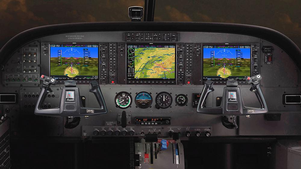Cessna Caravan Garmin