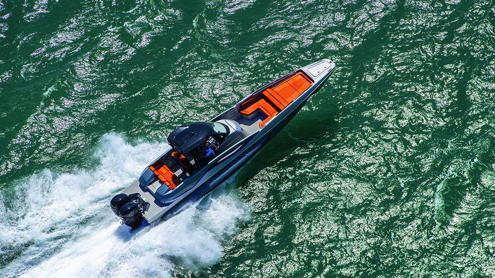 Sunseeker International Hawk 38 high-performance day boat