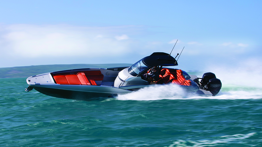 Sunseeker International Hawk 38 high-performance day boat