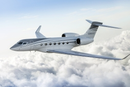 Gulfstream G600 business jet