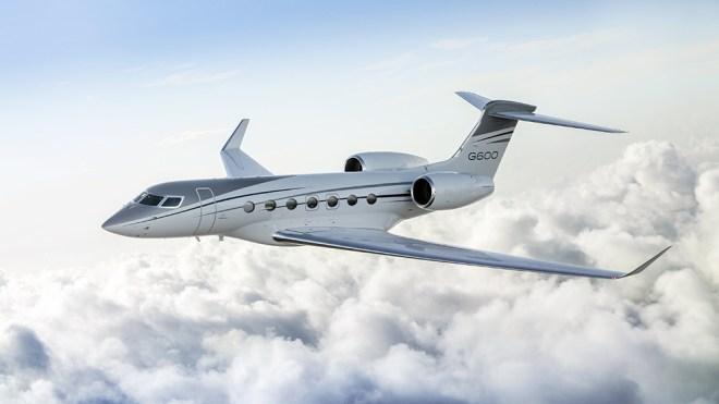 Gulfstream G600 business jet